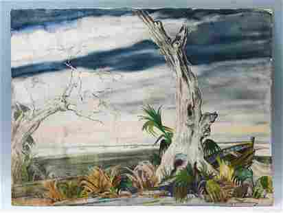 OLIVER SMITH FLORIDA ARTIST PAINTING