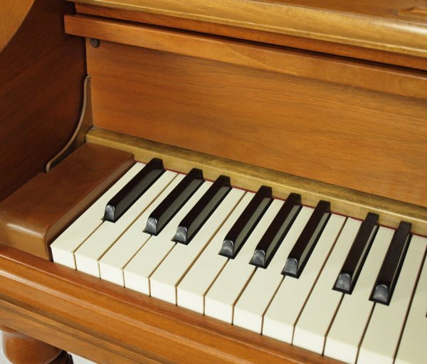 94: J. C. FISCHER SPINET PIANO WITH BENCH - 3