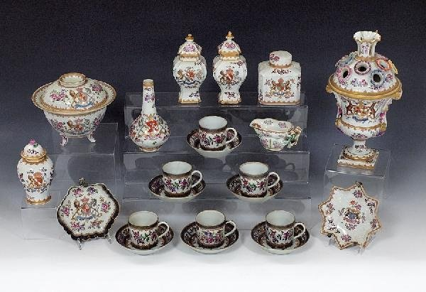 7: CHINESE EXPORT / SAMSON ARMORIAL PORCELAIN