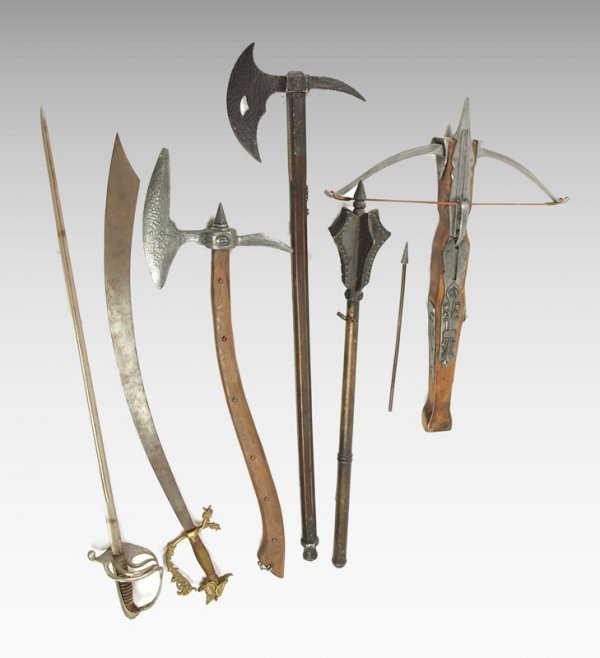 9A: 6 PIECE DECORATIVE WEAPONRY COLLECTION