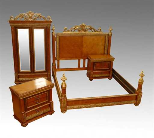 15: 4 PC HORCHOW BELLISSIMO BEDROOM SET