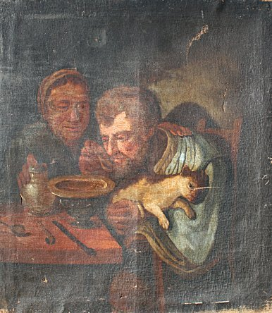 20: EARLY PAINTING AFTER VELASQUEZ? 17TH? CENTURY