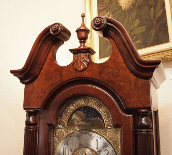 165: HOWARD MILLER ROCHESTER GRANDFATHER CLOCK  - 3