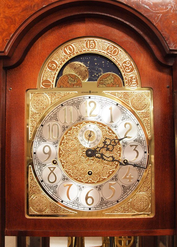 165: HOWARD MILLER ROCHESTER GRANDFATHER CLOCK  - 4