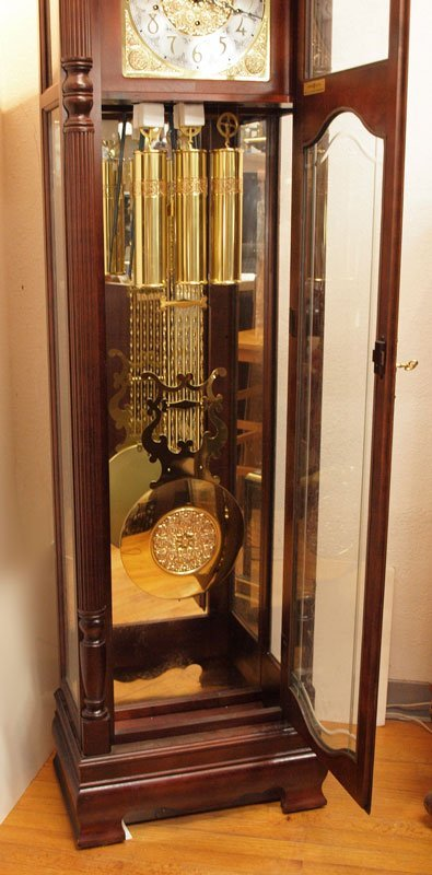 165: HOWARD MILLER ROCHESTER GRANDFATHER CLOCK  - 5