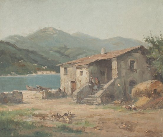 24: ERCOLE MAGROTTI ITALIAN PAINTING