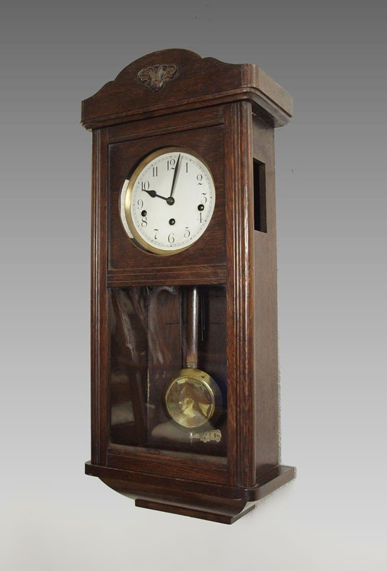 391: MULLER & CO. GERMAN WALL CLOCK