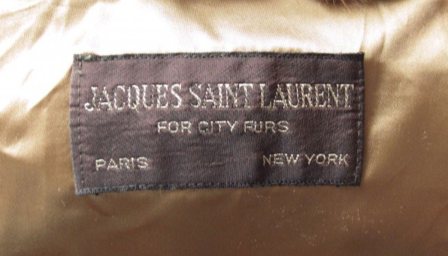 362: JACQUES SAINT LAURENT FUR JACKET - 5