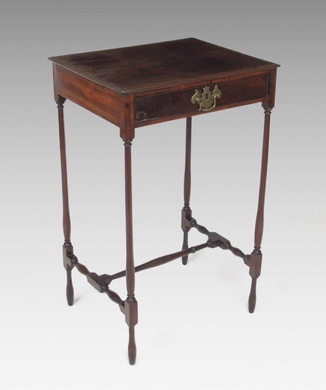 8: FEDERAL ONE DRAWER STAND DELICATE LEGS