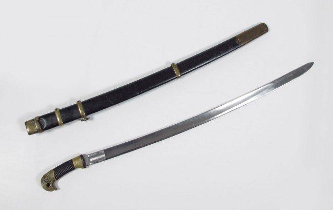 224A: RUSSIAN 1929 SHASHKA SWORD & SCABBARD