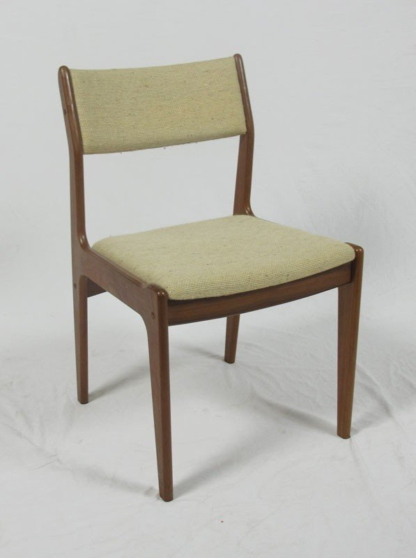 257A: GANGSO MOBLER DANISH MODERN TABLE AND CHAIRS - 5