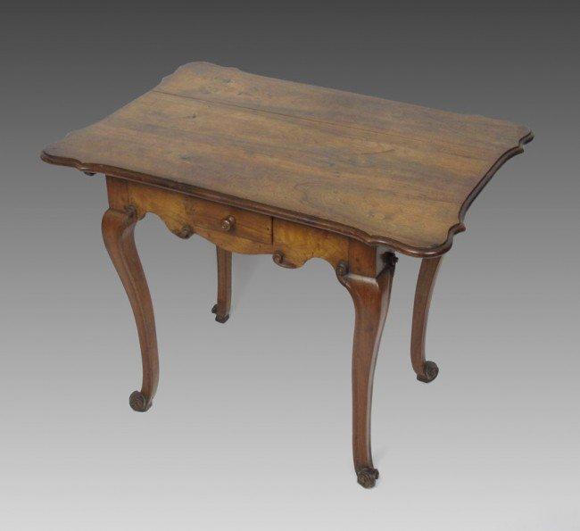 7: 18TH CENTURY EUROPEAN CUSTOM GAMING TABLE