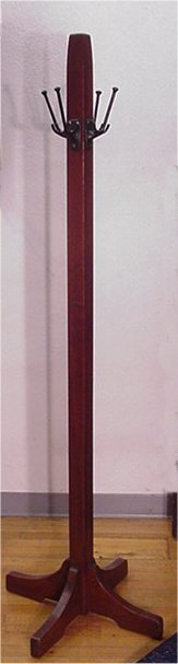 7: GUSTAV STICKLEY COSTUMER 52 SIGNED RED