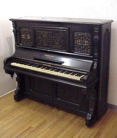 73 Sohmer Cabinet Grand Upright Piano Lot 0073