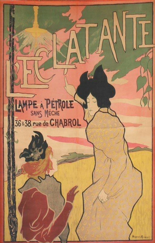 6: MANUAL ROBBE L'ECLATANTE POSTER