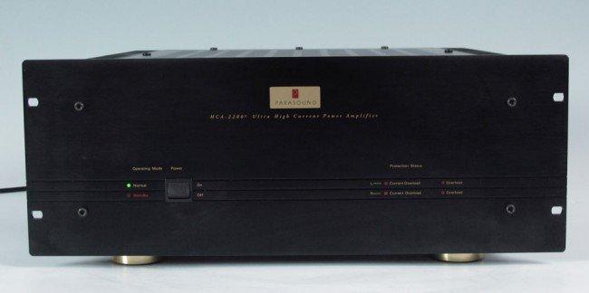 536: PARASOUND HCA-2200 II POWER AMPLIFIER - 2