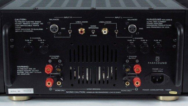 536: PARASOUND HCA-2200 II POWER AMPLIFIER - 3