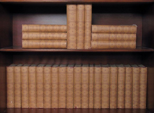 124: BURWASH EDITION COMPLETE WORKS OF RUDYARD KIPLING