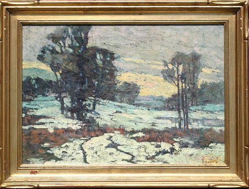 1262: CANADIAN? AMERICAN? IMPRESSIONIST SIGNED PAINTING