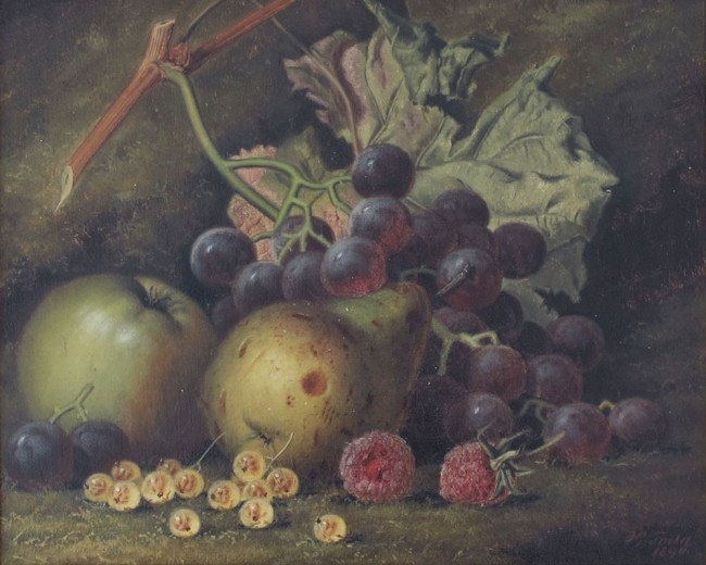 26: HENRY GEORGE TODD STILL LIFE PAINTING
