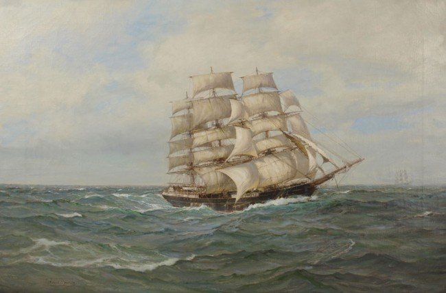 30: MONTAGUE DAWSON SOUTH AUSTRALIAN PAINTING