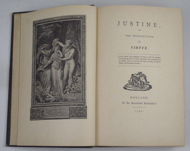 447: 1889 MARQUIS DE SADE OPUS SADICUM BOOK