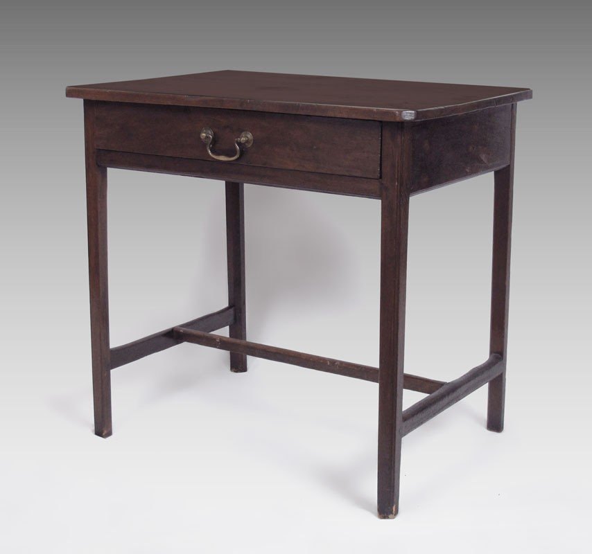16A: LATE 17TH C. ENGLISH WALNUT ONE DRAWER WORK TABLE