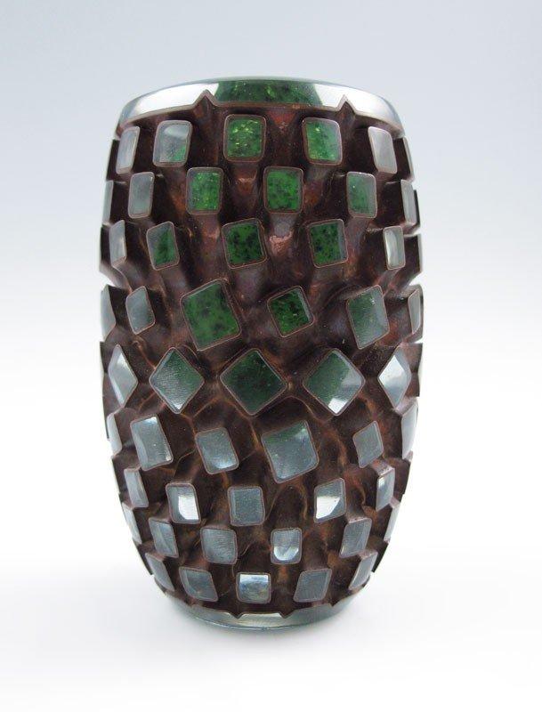 3: MICHAEL GLANCY ART GLASS