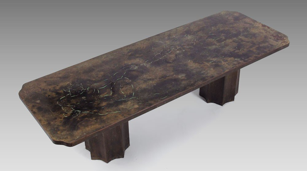 4: PHILLIP KELVIN LAVERNE MICHELANGELO COFFEE TABLE