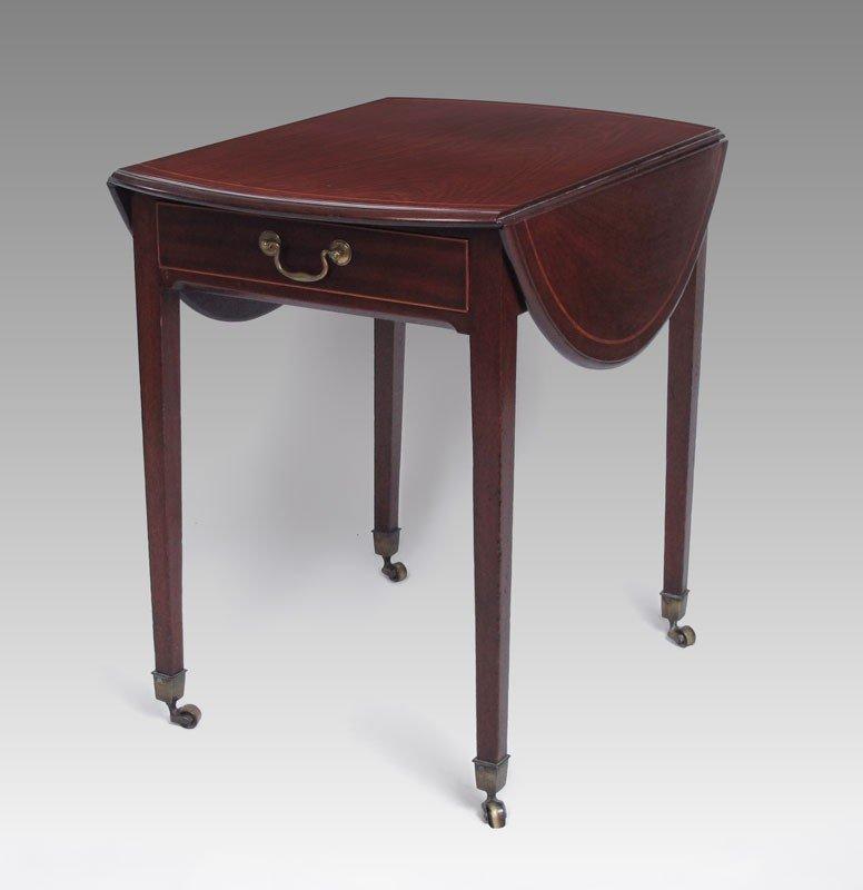 11: MAHOGANY PEMBROKE TABLE