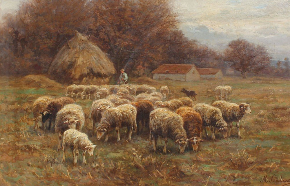 21: MARTIN COULAUD SHEEP PAINTING