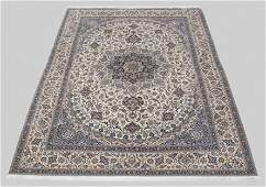 127 FINE PERSIAN SILK  WOOL RUG 10 X 14