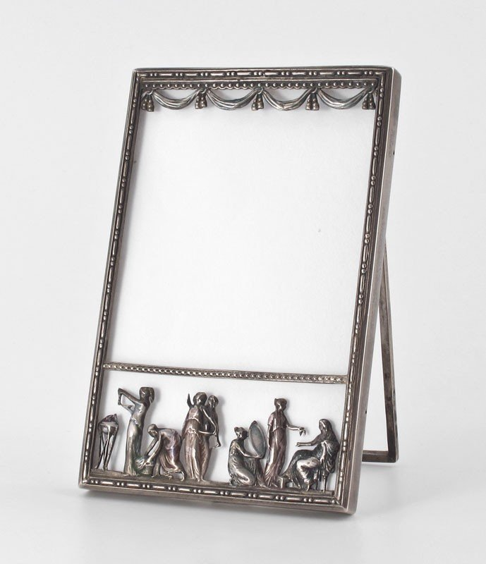 2: DIMINUTIVE RUSSIAN SILVER FRAME