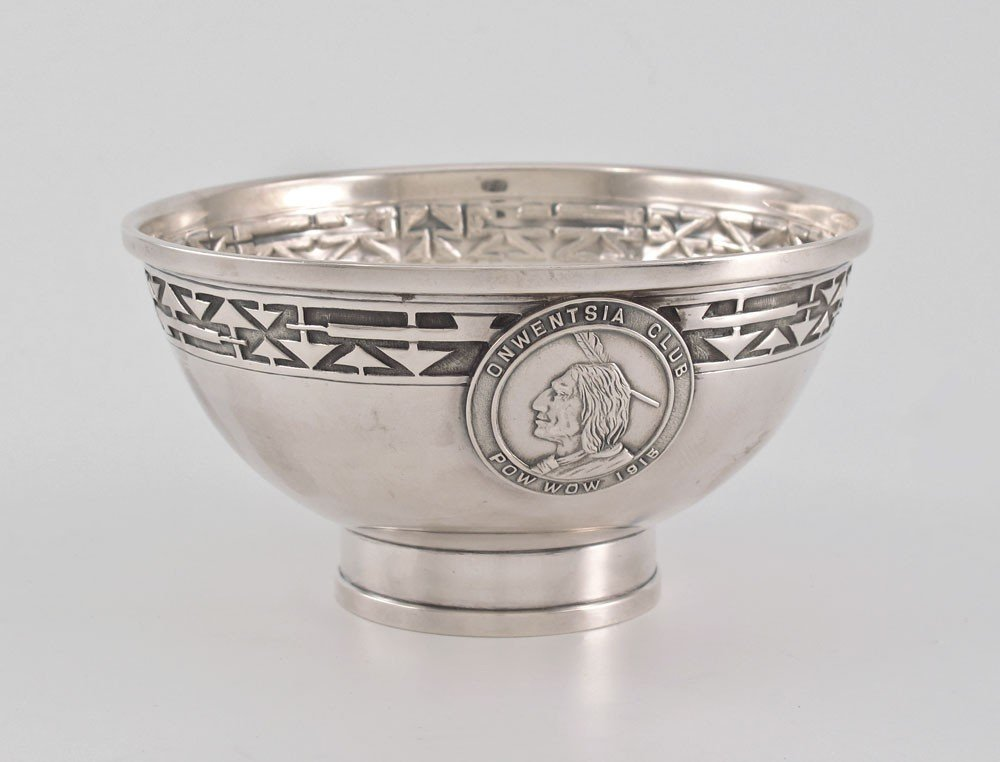 9: JARVIE ARTS & CRAFT STERLING SILVER  BOWL