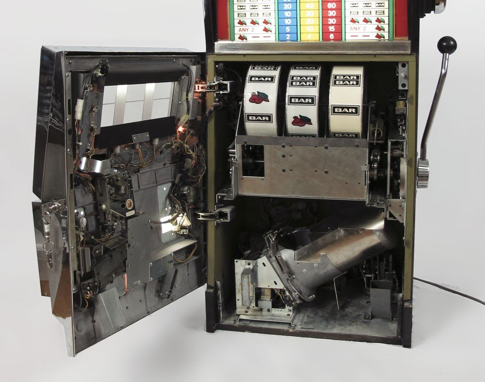 343: BALLY MODEL 1088 25 CENT SLOT MACHINE - 2