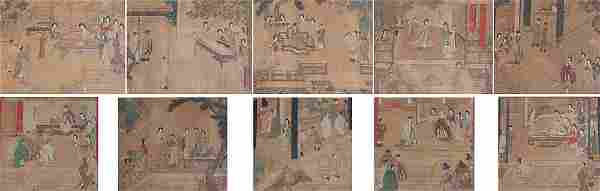10 EARLY CHINESE PAINTINGS