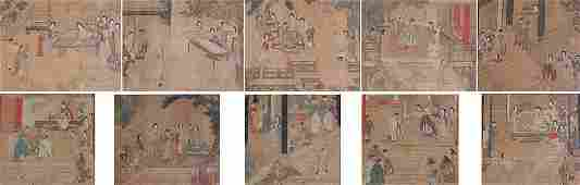94: 10 EARLY CHINESE PAINTINGS