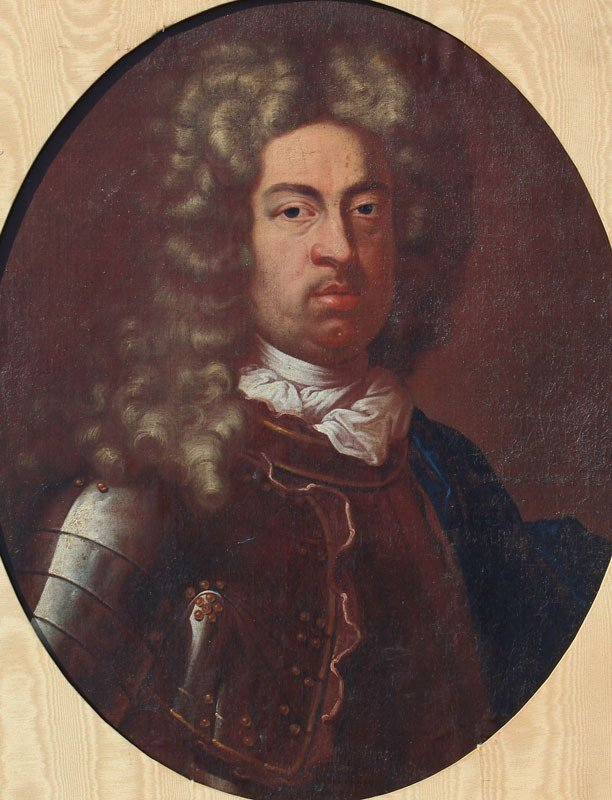22: EARLY PORTRAIT OF THE FIRST DUKE OF MARLBOROUGH