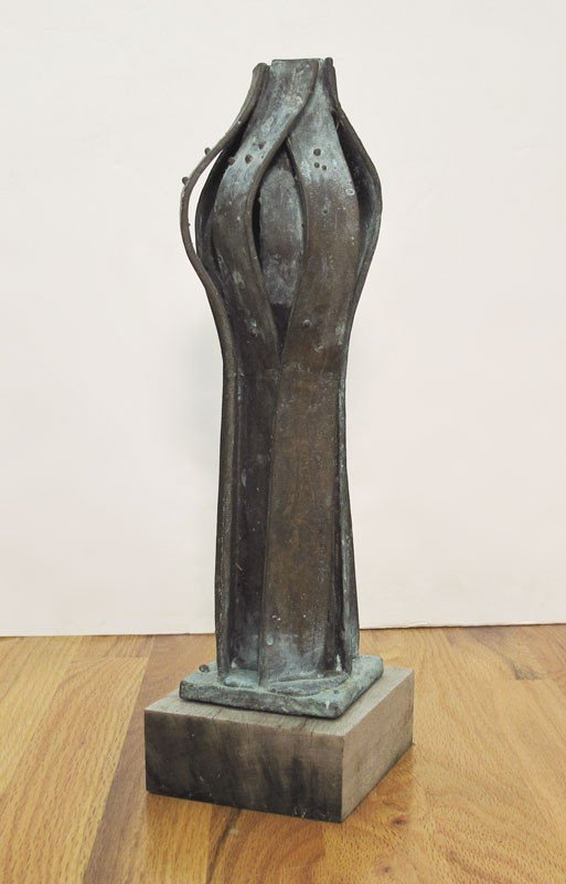 72: MODERNIST BIOMORPHIC BRONZE