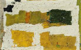 214: ED DUGMORE ABSTRACT PAINTING 1953