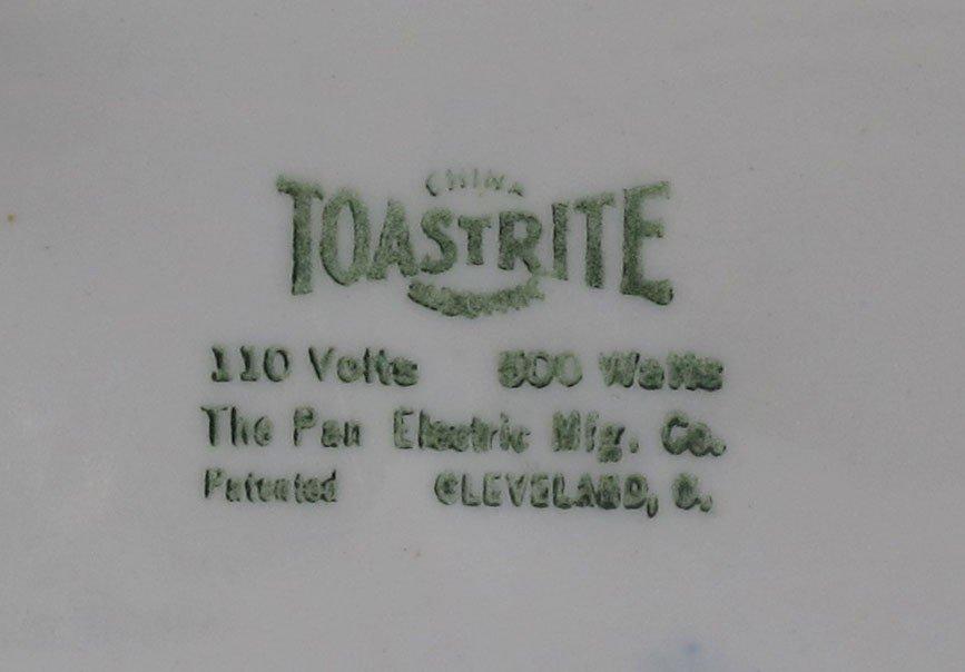 3: TOASTRITE BLUE WILLOW PORCELAIN TOASTER - 3