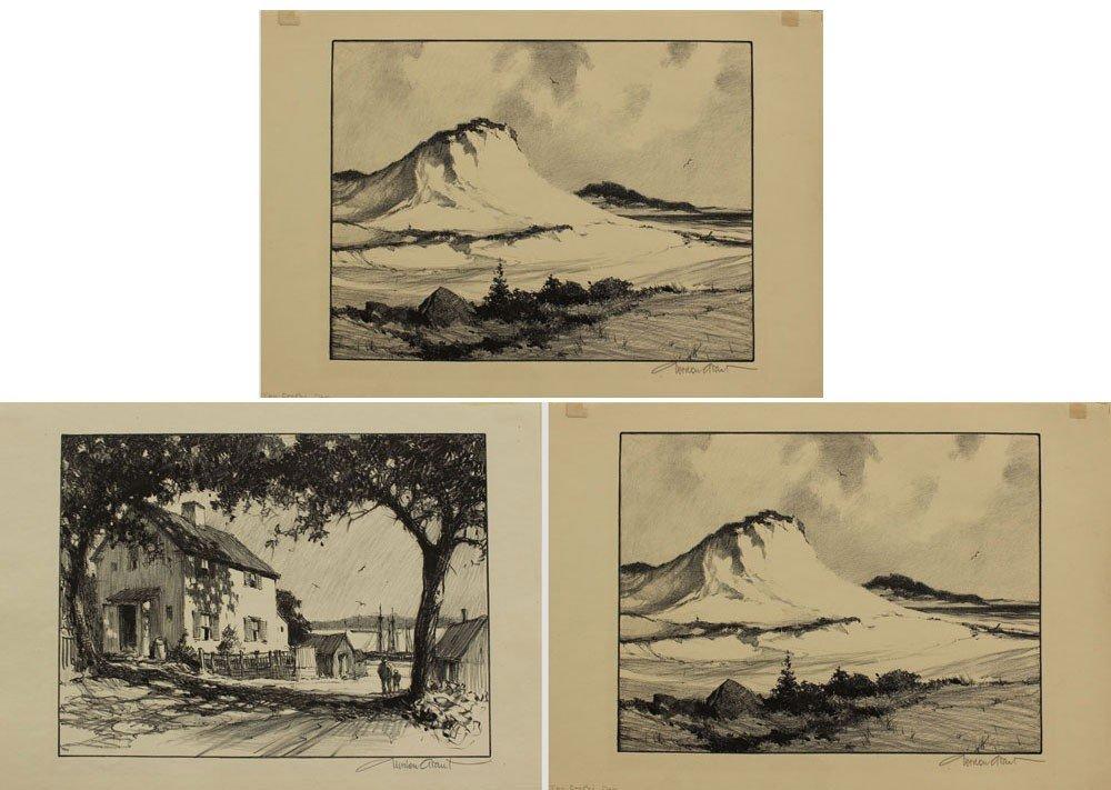 1: 3 GORDON GRANT LITHOGRAPHS