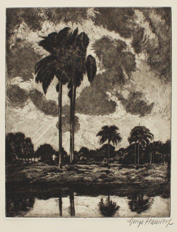 9: GEORGE HAUSDORF TROPIC SKY ETCHING