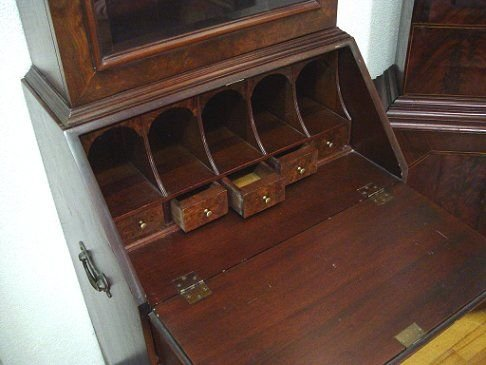 1245: MOST PETITE SECRETARY DESK BY HICKORY CHAIR       - 3