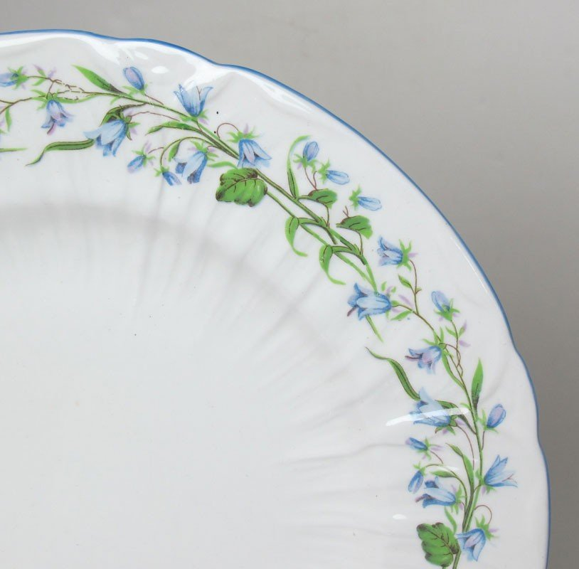 261: 89 pc SHELLEY BONE CHINA HAREBELL FOR 12 - 2