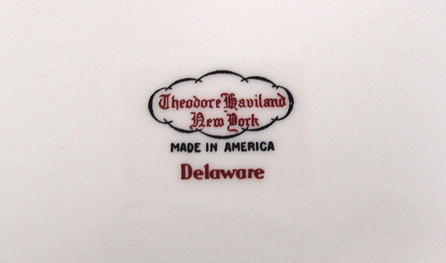 239A: THEODORE HAVILAND NEW YORK FINE CHINA DELAWARE PA - 3