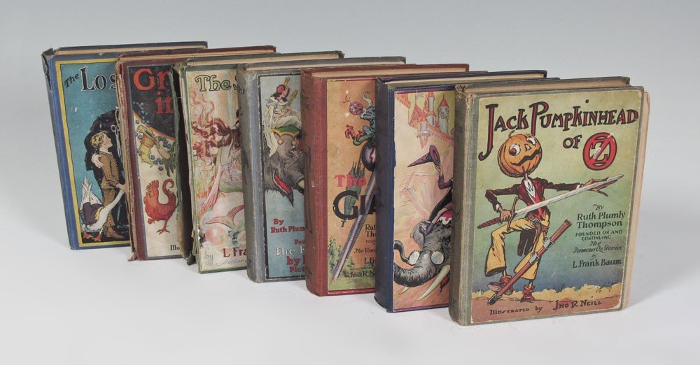 12: COLLECTION OF FIRST EDITION WIZARD OF OZ BOOKS
