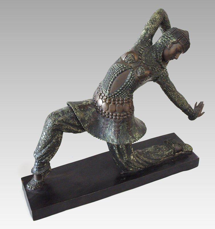 56: ART DECO BRONZE AFTER CHIPARUS