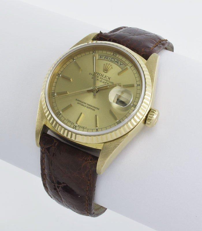 61: 18K ROLEX  PRESIDENTIAL WATCH  CA. 1986 W/ BOX