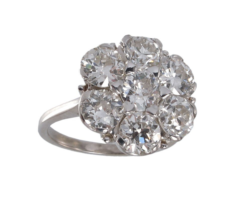 69: 3.54 CT DIAMOND RING $11,250 APPRAISAL 14K GOLD